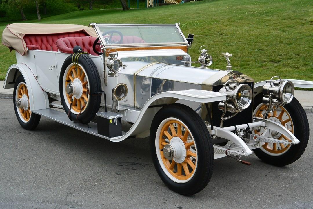1911 ロールス ロイス シルバー ゴースト ツアラー