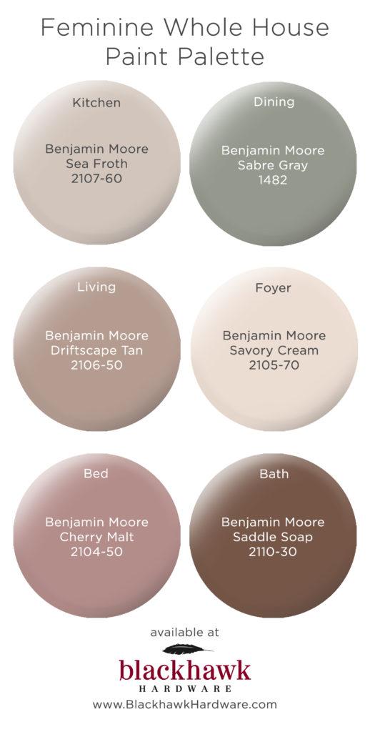 Benjamin Cream Moore Colors Warm