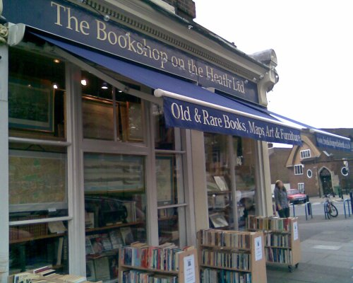 The Bookshop on the Green in Blackheath