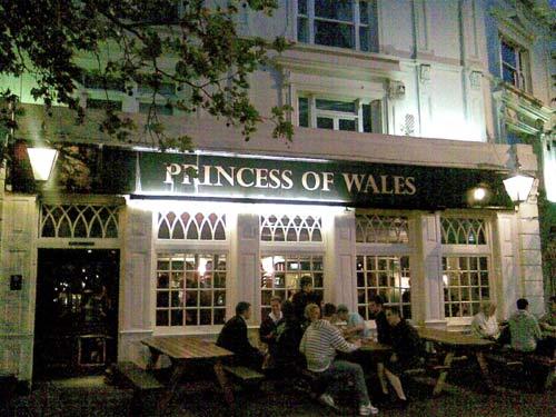 The Princess of Wales pub, Blackheath
