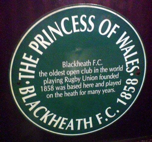 Prince of Wales pub plaque 1