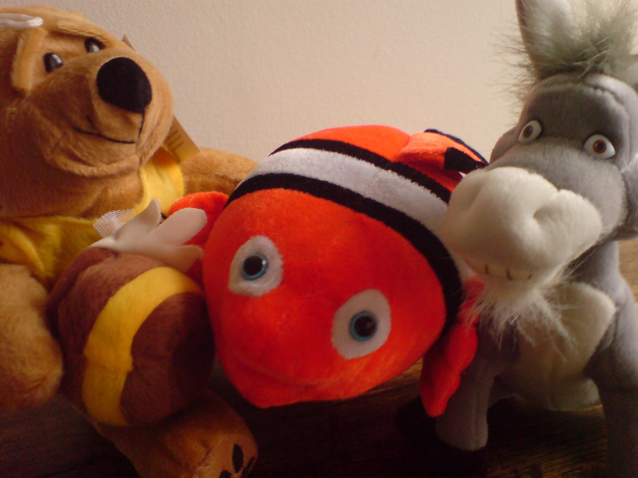 Soft toys won at the Blackheath Fairground Funfair
