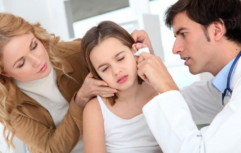 Ear Ache Sick Girl