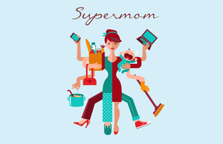Super mom Graphic