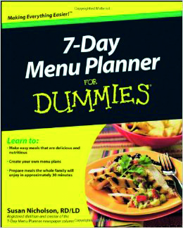 7 Day Menu Planner for Dummies