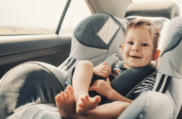 Boy in Car seat