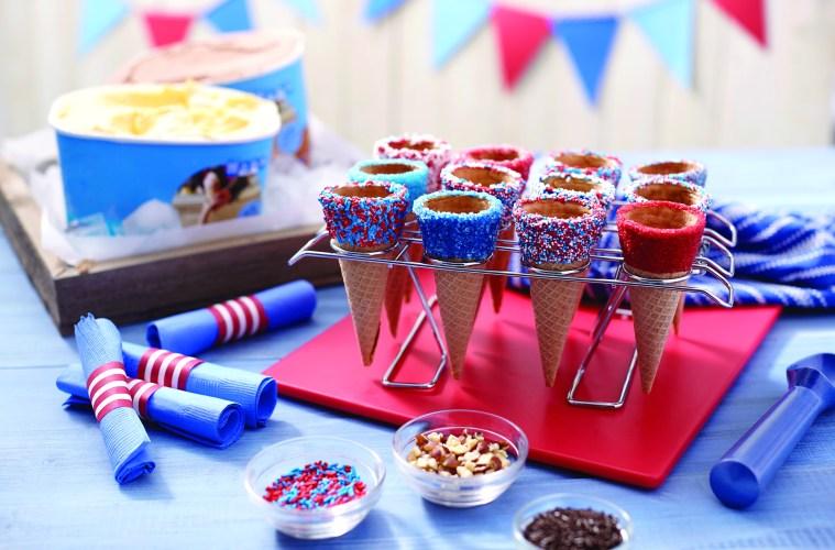 4th of July Ice cream Bar
