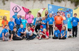 Boys & Girls Club Group Photo