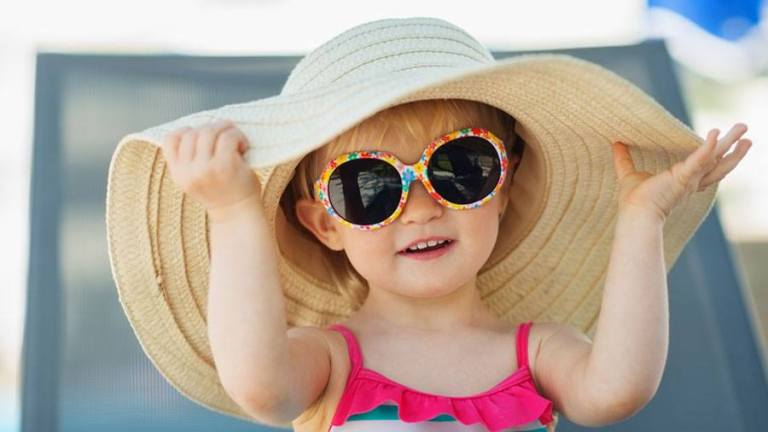 Girl Sun Hat