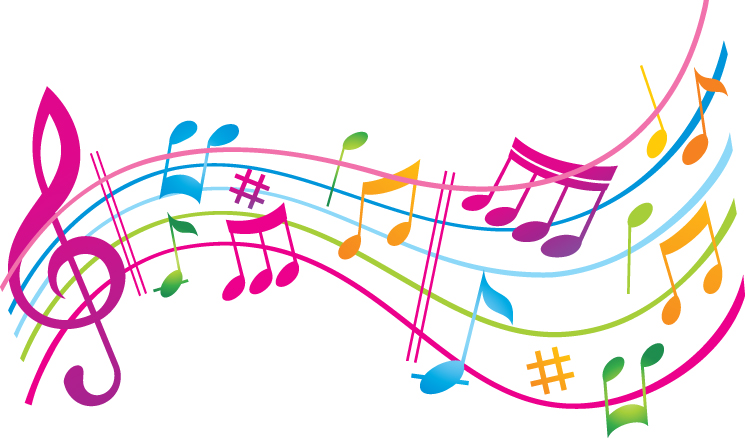 Graphic Music Notes