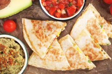 Quick Lunch Quesadilla