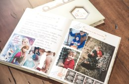 Baby Book Scrapbook Memories