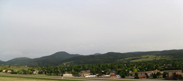 Lookout Mountain Spearfish, SD SW view