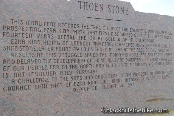 Thoen Stone Story Spearfish SD