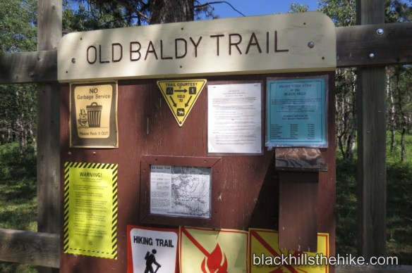 Old Baldy Trail Trailhead