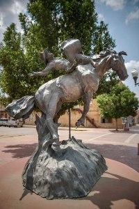 Statue Cowboy