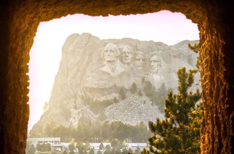 Mount Rushmore Cave