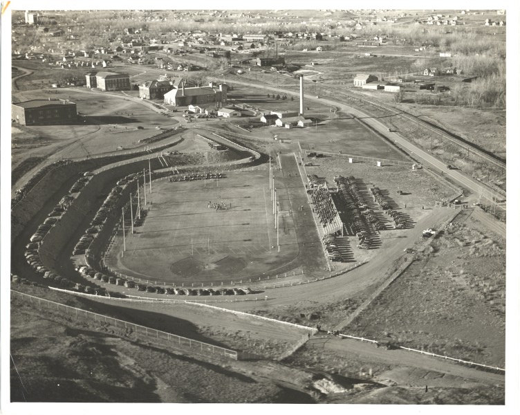 Aerial of O'Harra Field in 1939