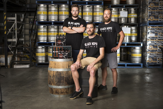 Black Hops Brewery Founders