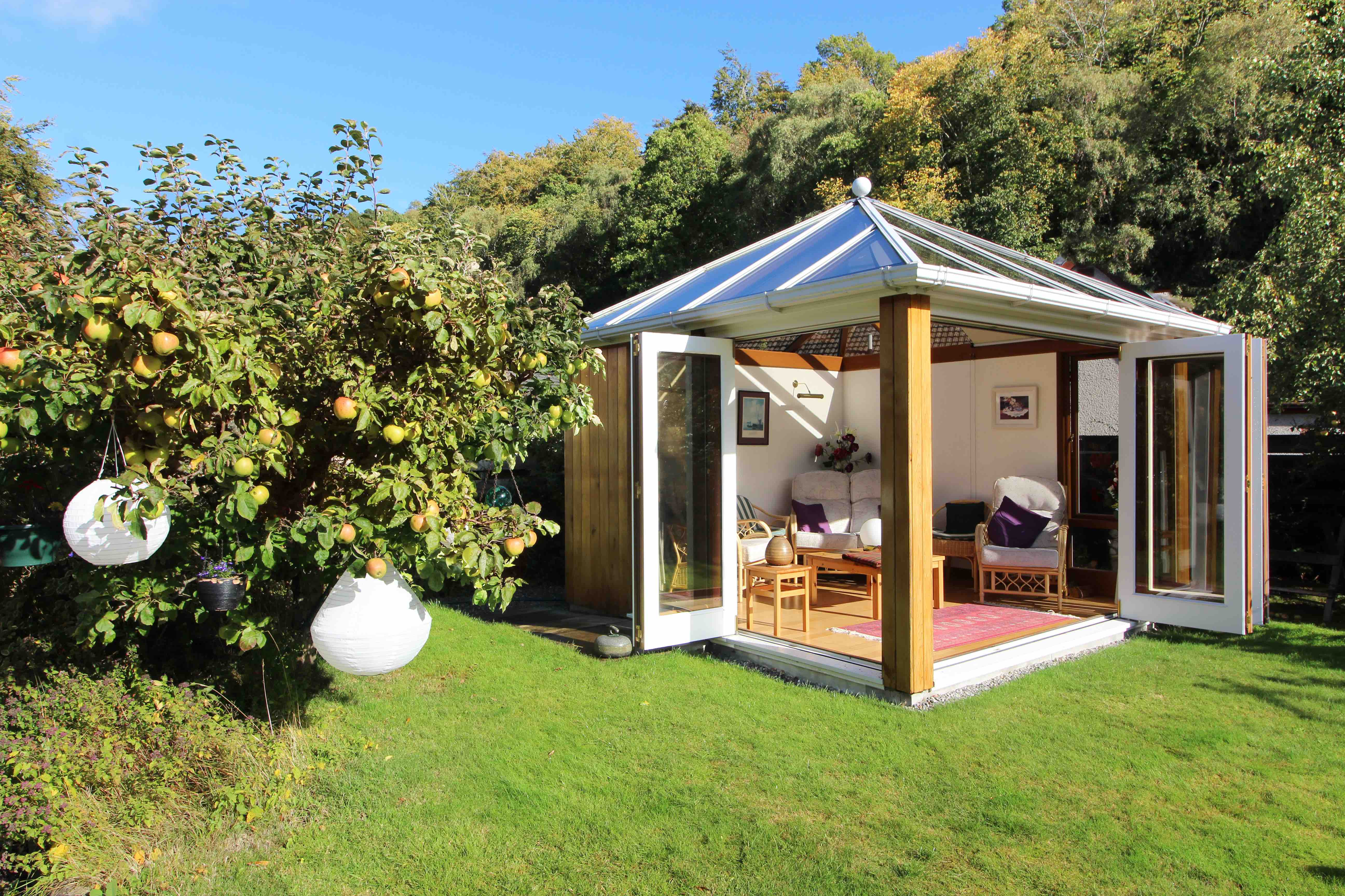 Blackhouse Photography property garden room inverness