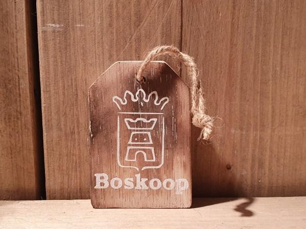 tekstlabel Boskoop
