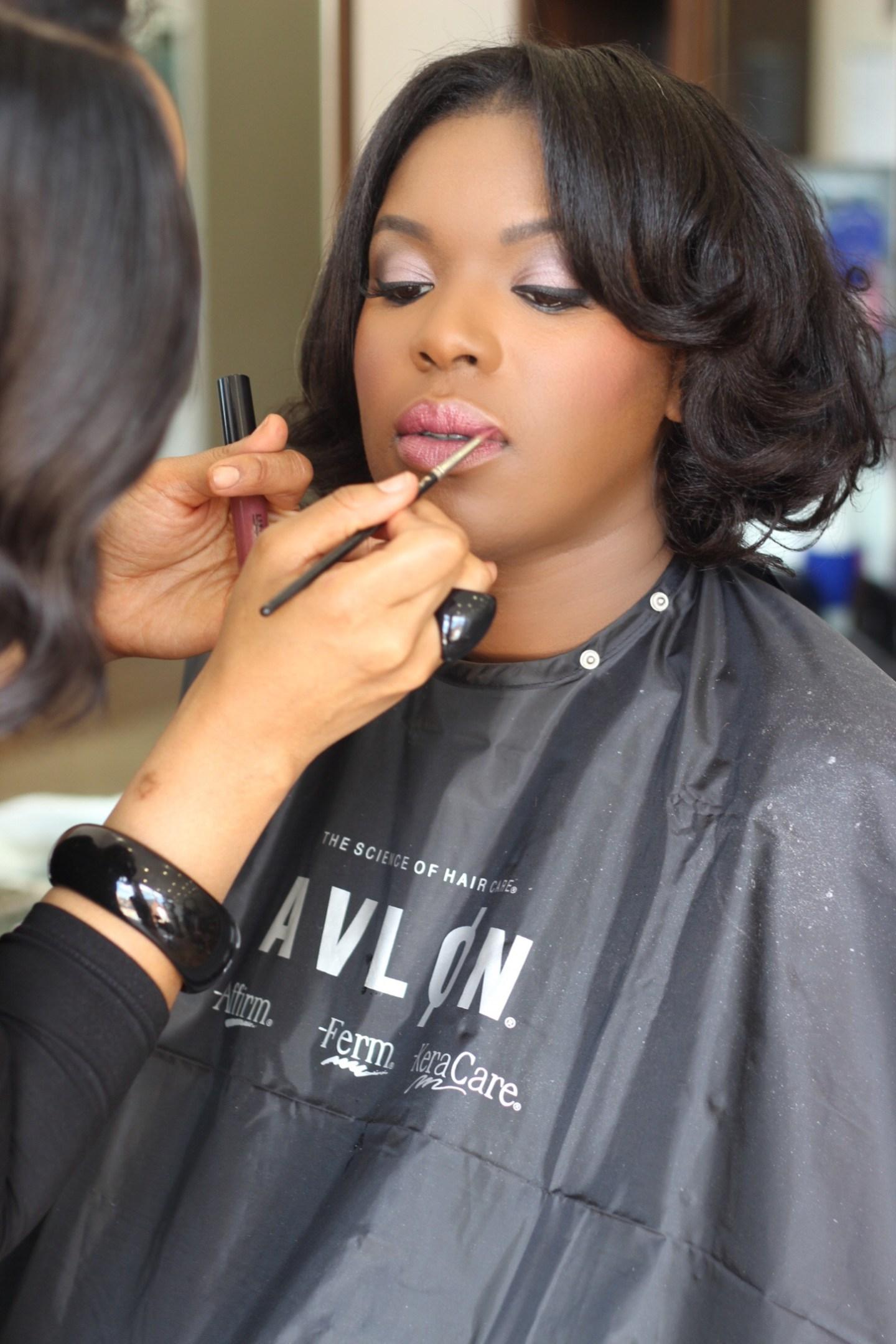 maquillage peaux noires