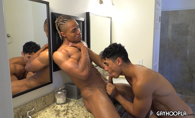 GayHoopla: Black Jock Baron Wade Fucks Max Richie