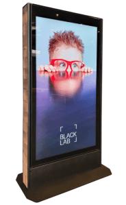 freestanding outdoor digital signage screen