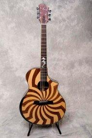 zakk wylde loucin buzzsaw acoustic guitar