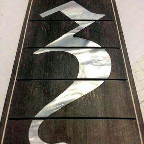 zakk wylde loucin guitar fingerboard