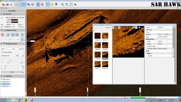 SAR HAWK Shipwreck -Measure Frame 4 Inches