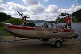 Small Fire Rescue Boat