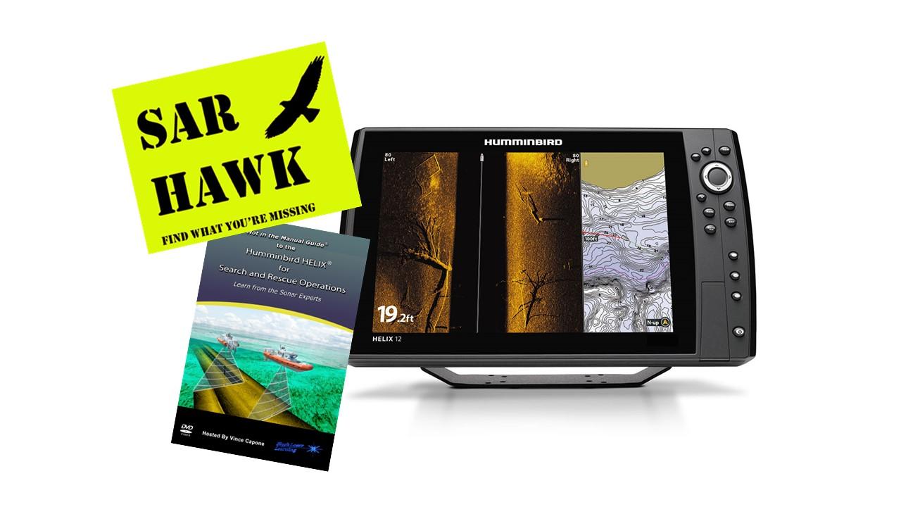 Humminbird® HELIX® 12 / SAR HAWK® Software / Training DVD / Accessory  Package