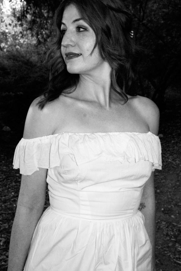 Bodice Front Off the Shoulder Dress