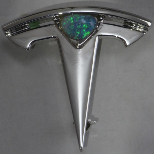 custom made tesla opal jewellery from Australia