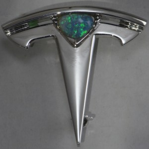 custom made tesla opal jewellery from Australia