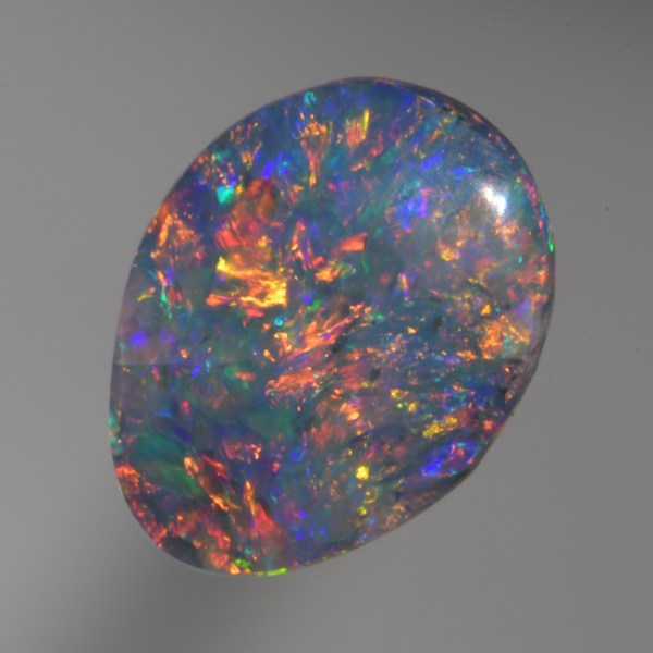buy this Beautiful ring size Black Opal has very deep red, green and blue colours mixed in with a perfect floral pattern from Lightning Ridge Australia at wholesale price