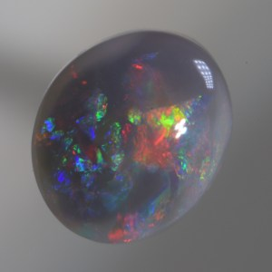 2.00 CT Solid Natural Dark Opal Lightning Ridge Australia sb251