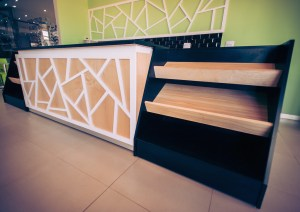 detail of Blackline Interiors retail design work