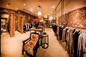 Retail interior by Blackline Interiors