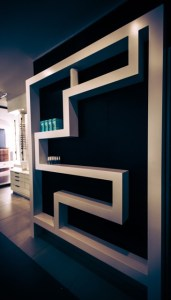 Optometry interior design