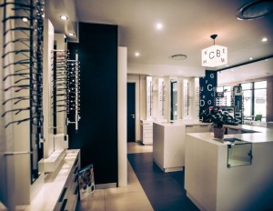 interior architecture - optometry design
