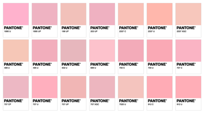 Millennial Pink trending in retail design- Image sourced from Blockclub.co