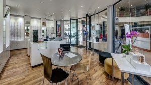 Vison Med optometry interior design