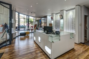 Blackline Retail Interiors designs Vison Med Optometry
