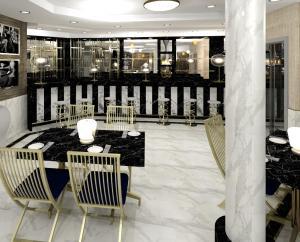 Restaurant design by blackline retail interiors