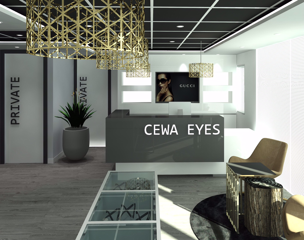 optometry design by blackline retail interiors