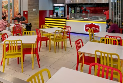 fast-food restaurant interior design