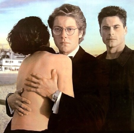 Lisa Zane, James Spader & Rob Lowe in Bad Influence