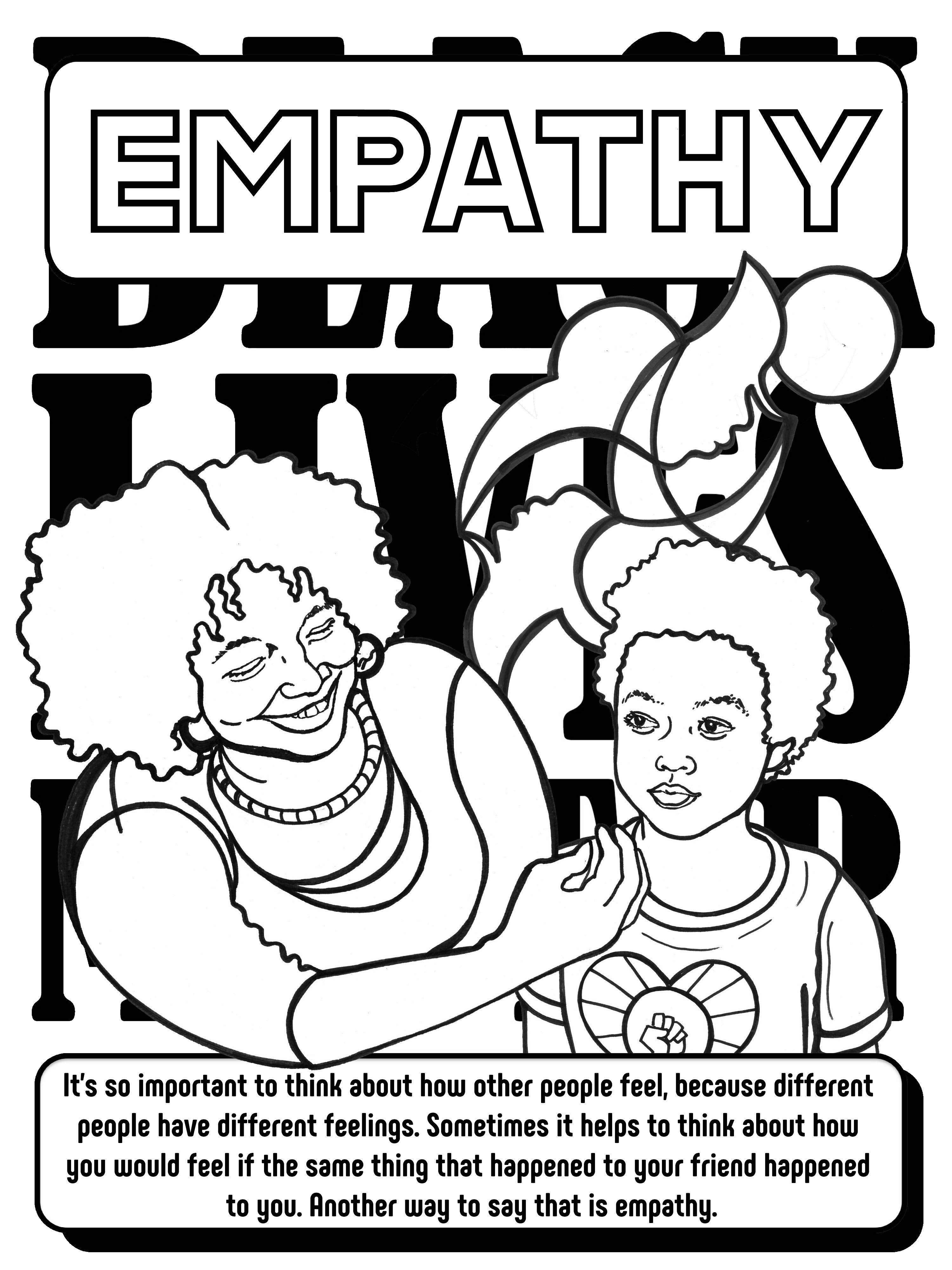 The Black Lives Matter At School Coloring Book Make This